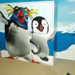 Kinder slaapkamer Happy Feet